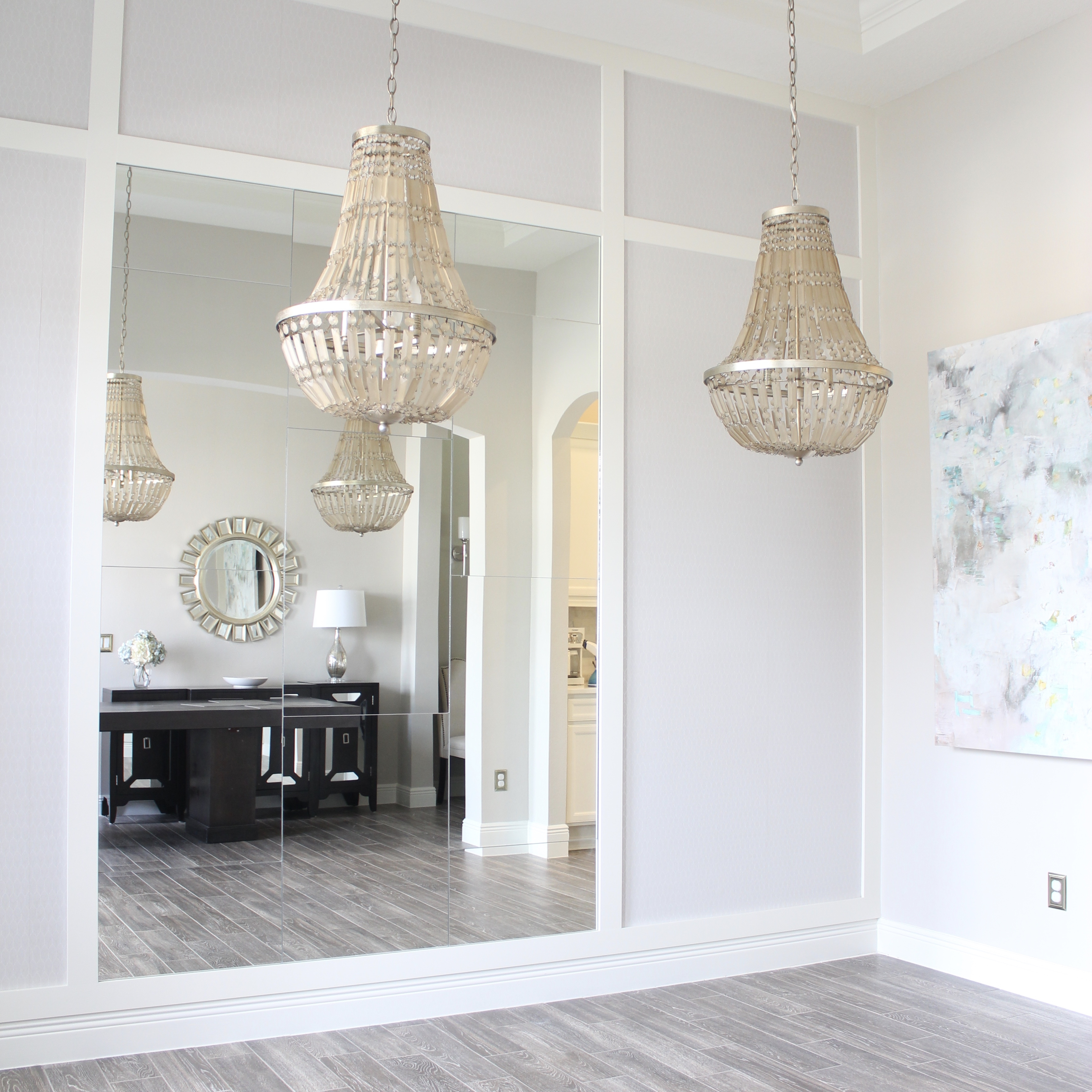 Wall Mirrors For Dining Room: Dining Room Mirror Wall